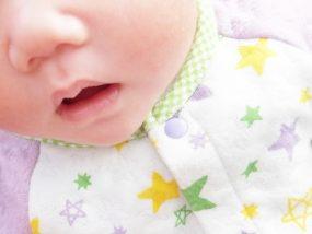 口呼吸の赤ちゃん