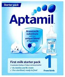 アプタミルスターターパック液体ミルク6本+専用乳首6個