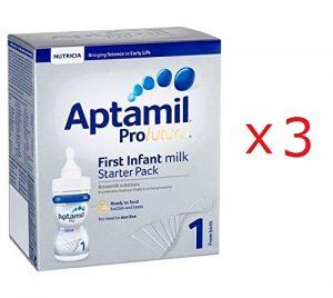 アプタミルProfuturaスターターパック液体ミルク+専用乳首|0ヶ月~6ヶ月