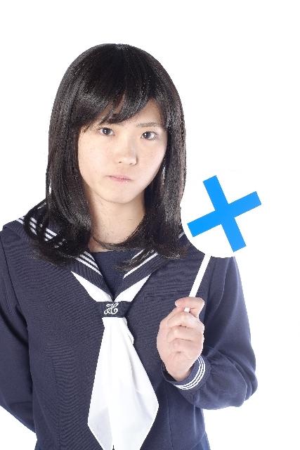 中学生の女の子