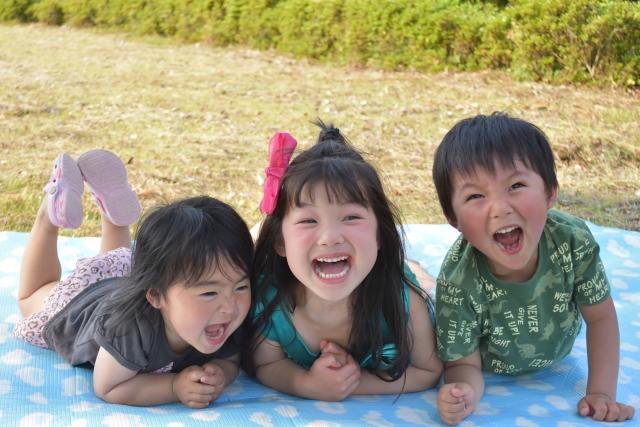 笑顔の子供達