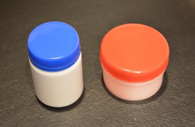 2種類の塗り薬