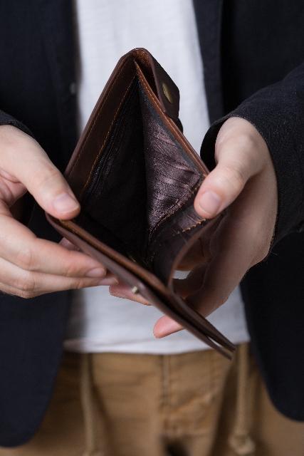 からっぽの財布
