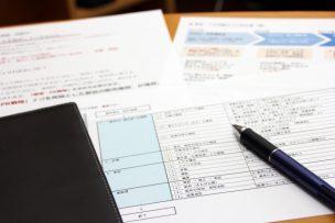 母子福祉資金貸付金の申請書