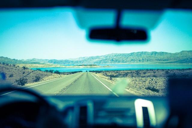 車内からみる景色