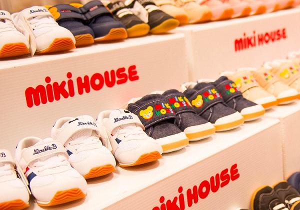 ミキハウスの靴