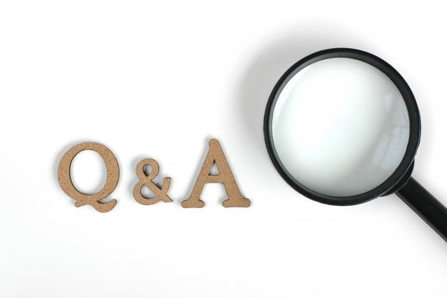 虫眼鏡とQ&A