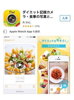 レコーディングダイエットアプリ