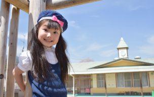 幼稚園に通う子供