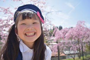 幼稚園児の女の子
