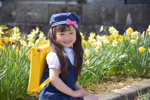 幼稚園の女の子