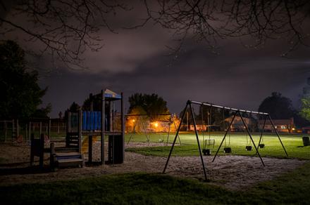 夜の幼稚園